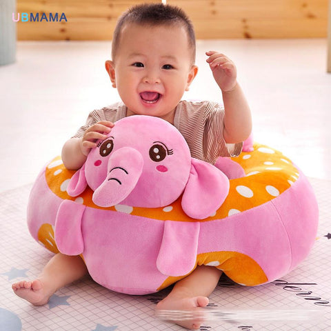 Cartoon animal baby Support Seat Sofa