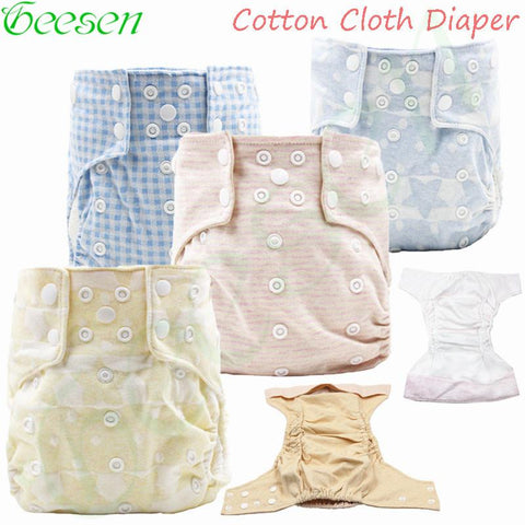100% Cotton Waterproof  Cloth Diaper