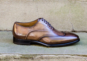 TOBACCO AUSTERITY BROGUES SHOES