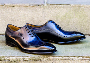 MULTICOLORED OXFORD STYLE SHOES