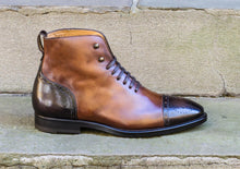BALMORAL LEATHER BOOTS