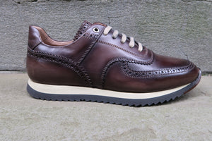 CHOCOLATE BROWN FASHION SNEAKERS