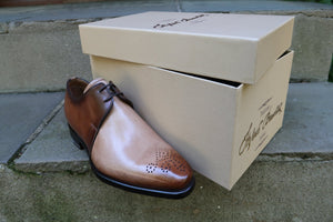 TWO TONE DERBY SHOES