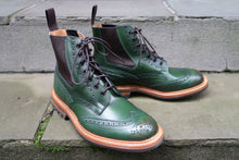 TRICKER'S ELLIS COUNTRY STYLE BOOTS IN FOREST GREEN