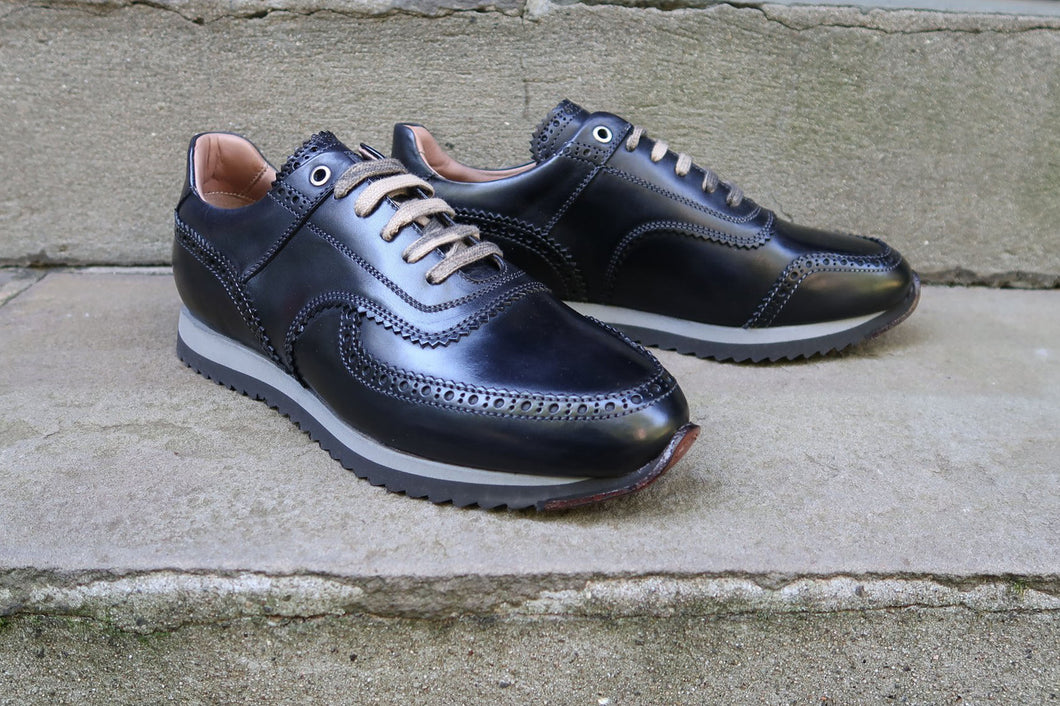 ANTIQUE BLACK FASHION SNEAKERS