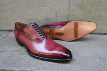 LIGHT CORDOVAN OXFORDS