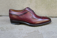 DARK BURGUNDY OXFORDS
