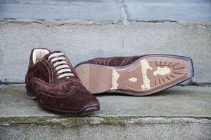 BROWN SUEDE SPORT STYLE SHOES