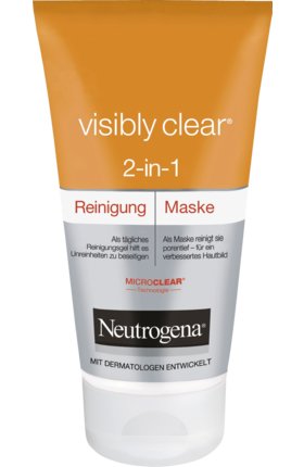Neutrogena, Visibly Clear Reinigende Maske, 150 ml