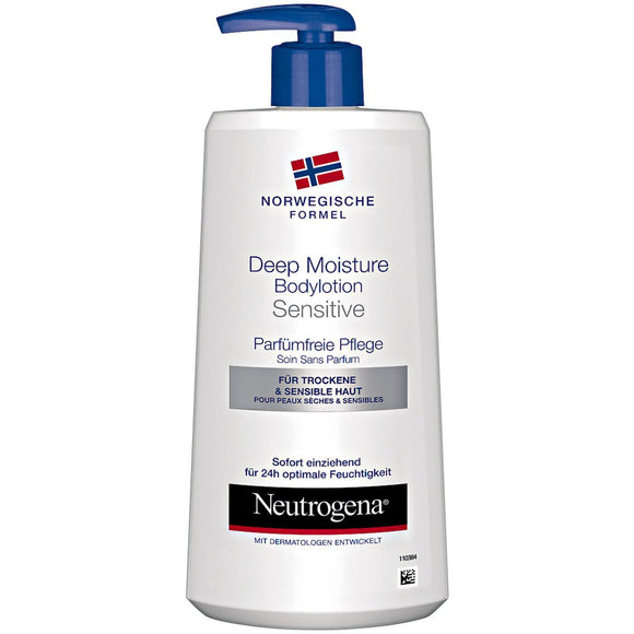 Neutrogena, Bodylotion Sensitive Haut, 400 ml - Neutrogena, Lotion nhạy cảm cho da, 400 ml