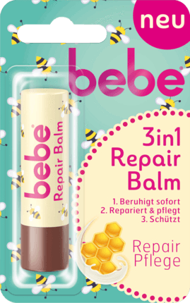 Bebe Young Care, Lippen Pflege 3 in 1 Repair, 4,9 g
