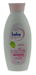 Bebe Young Care, Soft Body Milk, 400 ml