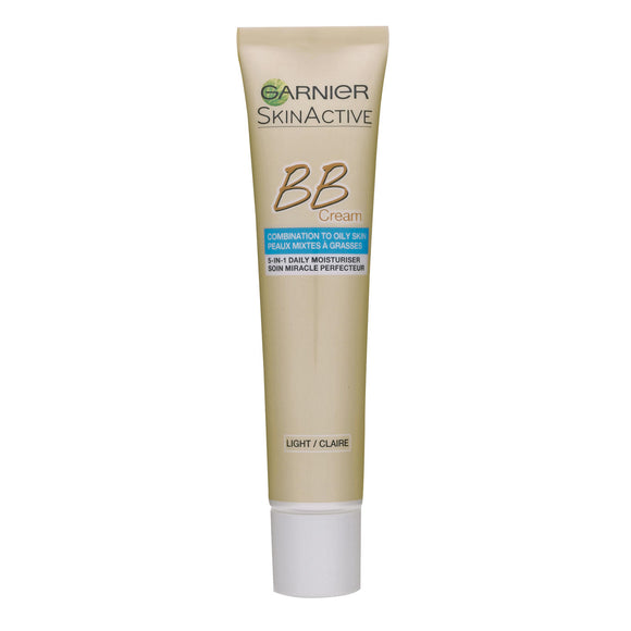 GARNIER Skin Active, BB Cream Matt-Effekt Miracle Skin Perfector 5in1 Blemish Balm Hell, 40 ml