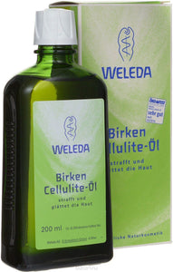 Weleda, Birken-Cellulite-Öl, 200 ml