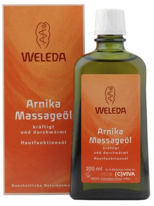 Weleda, Massageöl M Arnika, 200 ml