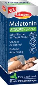 Schaebens, Melatonin phun ngay lập tức., 20 ml - Schaebens, Melatonin Sofort-Spray, 20 ml