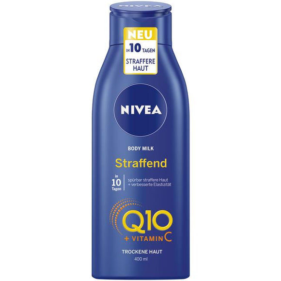 NIVEA, NIVEA Body Milk Q10 + Vitamin C, 400 ml