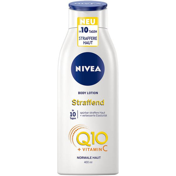 NIVEA, Q10 + Vitamin C straffende Body Lotion, 400 ml