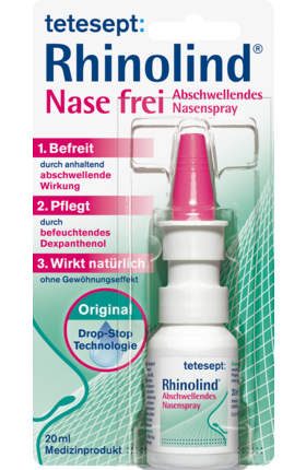 Tetesept, Rhinolind Nasenfrei Spray, 20 ml
