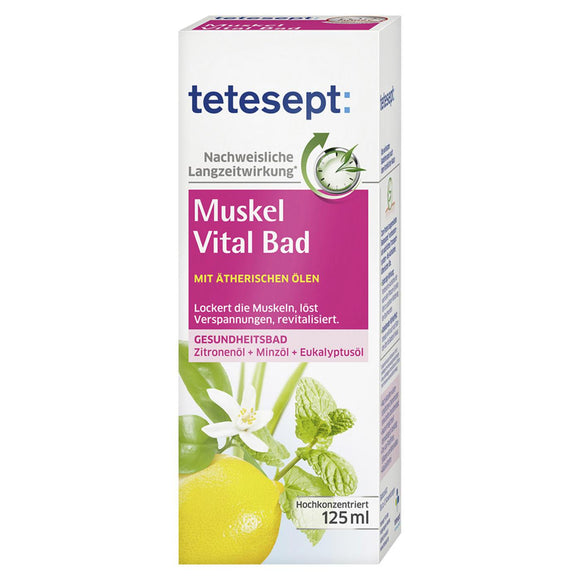 Tetesept, Muskel Vital Bad, 125 ml