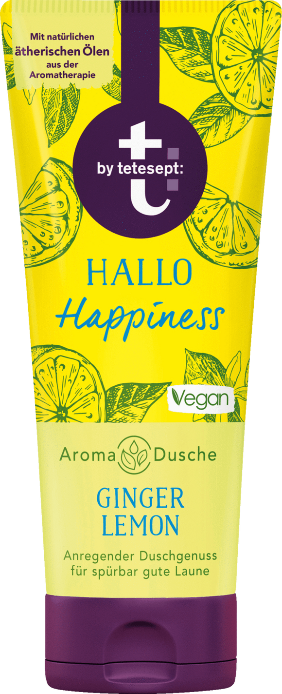 t by Tetesept, Duschbad Hallo Happiness, 200 ml