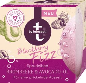t by Tetesept, Sprudelbad Blackberry Fizz, 165 g
