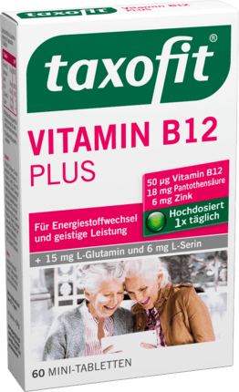 Taxofit, Vitamin B 12 Tabletten, 60 er