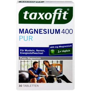 Taxofit, Magnesium 400 mg Pur, 30 er
