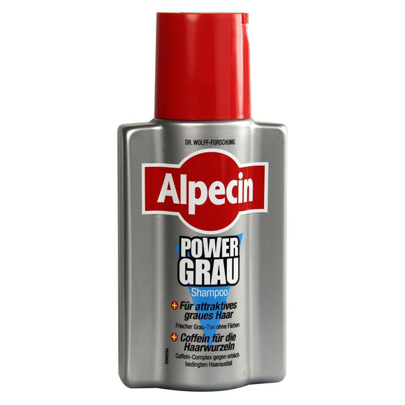 Alpecin, Shampoo Power - Grau, 200 ml