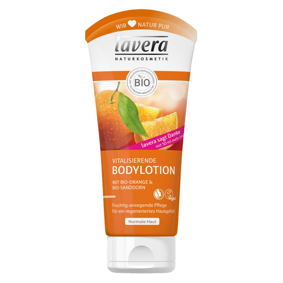 Lavera, Bodylotion Bio Orange und Sanddorn, 200 ml