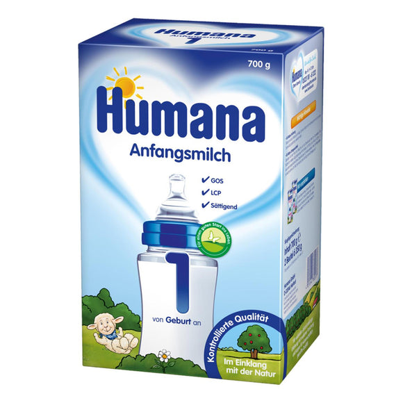 Humana, Anfangsmilch 1 (2 x 350 g), 700 g