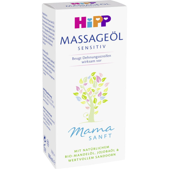 Hipp, 9700 Mamas Massage-Öl, 100 ml