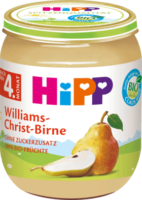 Hipp, 4230 Bio Williams-Christ-Birne, 125 g