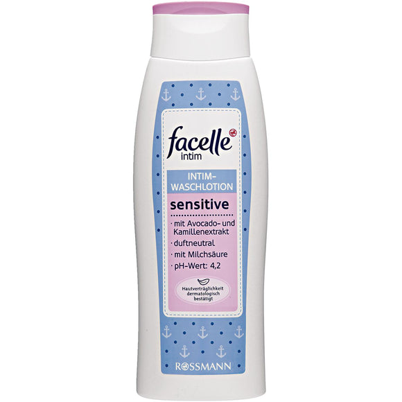 facelle by Rossmann, intim sensitive, Intim-Waschlotion, 300 ml