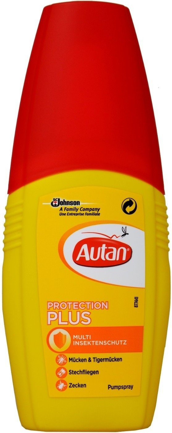 Autan, Protection Plus Pumpspray, 100 ml