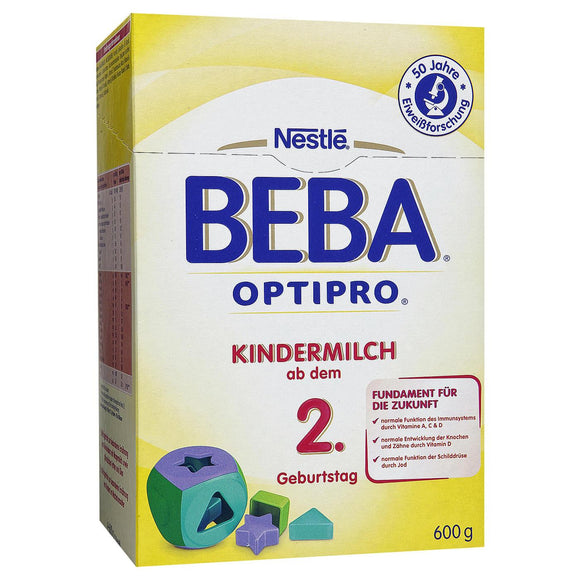 Beba by Nestlé, Optipro Kindermilch 2 +, 600 g