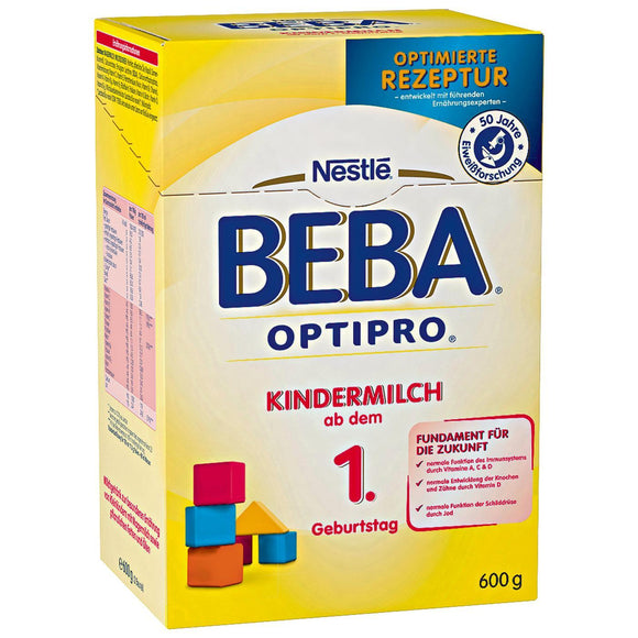 Beba by Nestlé, Optipro Kindermilch 1+, 600 g