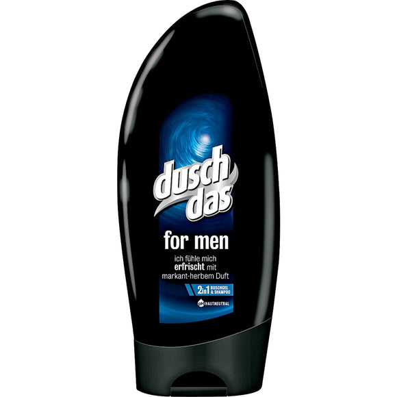 Duschdas, For Men 2 in 1 Duschgel & Shampoo, 250 ml