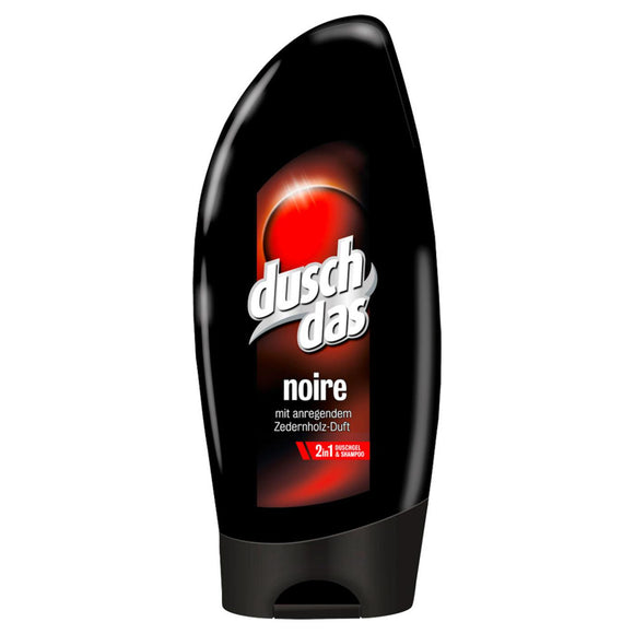 Duschdas, For Men Noire 2 in 1 Duschgel & Shampoo, 250 ml