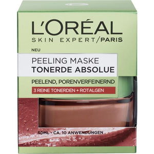 L'Oréal Paris, Skin Expert Maske Tonerde Absolue: Peeling Mask, 50 ml