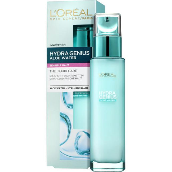 L'Oréal Paris, Hydra Genius Aloe Water: Sensitive Skin, 70 ml