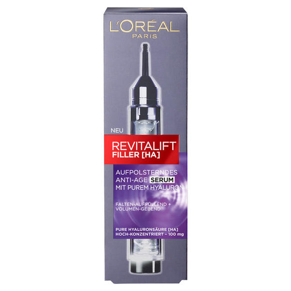 L'Oréal Paris, Revitalift Filler [HA] Aufpolsterndes Anti-Age Serum, 16 ml