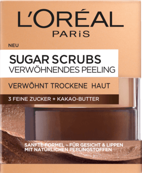 L'Oréal Paris, Sugar Scrubs Peeling: Pampering Peeling, 50 ml