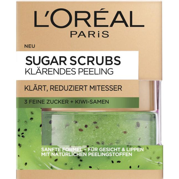 L'Oréal Paris, Sugar Scrubs Peeling: Clarifying Peeling, 50 ml