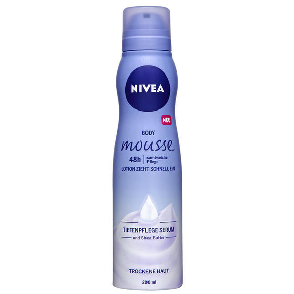 NIVEA, Body Mousse, 200 ml