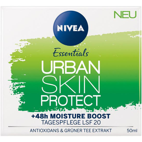 NIVEA Essentials, Urban Skin Protect Tagespflege, 50 ml - NIVEA Essentials, Kem dưỡng ban NGÀY, 50 ml