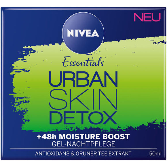 NIVEA Essentials, Urban Skin Protect Nachtpflege, 50 ml - NIVEA Essentials, Kem dưỡng ban ĐÊM, 50 ml