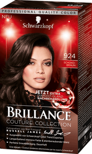 Brillance by Schwarzkopf, Thuốc nhuộm Color Creme: Chocolate Brown (Color Code: 924)