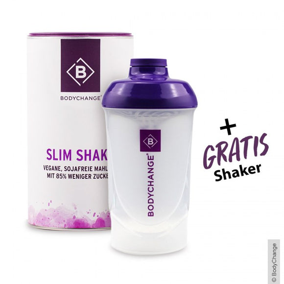 bodychange, Bundle Sale, Slim Shake, 500 g & Shaker - bodychange, Bán bó, Slim Shake, 500 g & Shaker