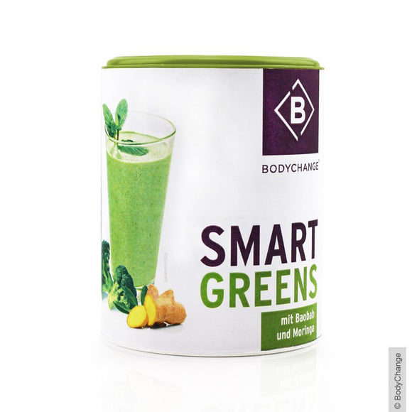 bodychange, Superfood Shake Pulver, Smart Greens, 100 g - bodychange, Super Shake Shake Powder, Smart Greens, 100 g